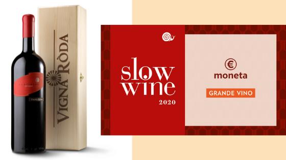 Medaglia Slow Wine 2020 - Scarlatto